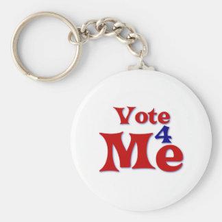 Vote 4 Me Keychain