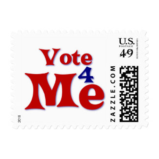 Vote 4 Me Postage Stamps