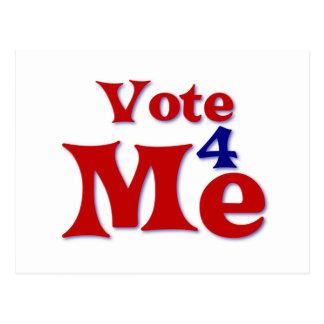 Vote 4 Me Postcard