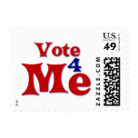Vote 4 Me Stamps