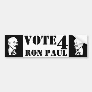 Vote 4 Ron Paul ! Bumper Sticker