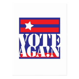 VOTE AGAIN POSTCARD