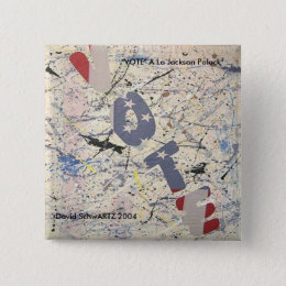 VOTE al Jackson Polack.artzworks.c... - Customized Pinback Button