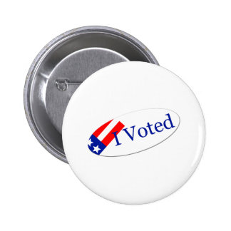 Voté al pegatina pin redondo 5 cm