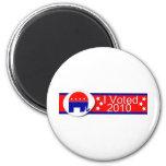 ¡Voté al republicano en 2010! Imán Para Frigorifico
