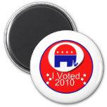 Voté al republicano en 2010 iman