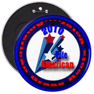 Vote American Button