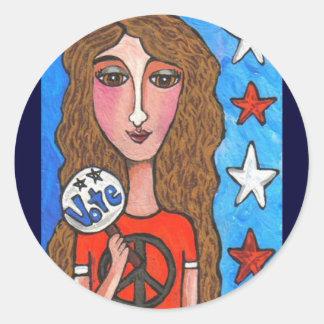 VOTE - american stickers