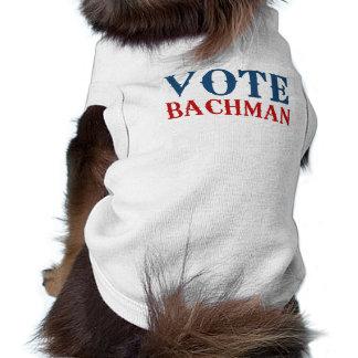 VOTE BACHMAN 2012 PET SHIRT