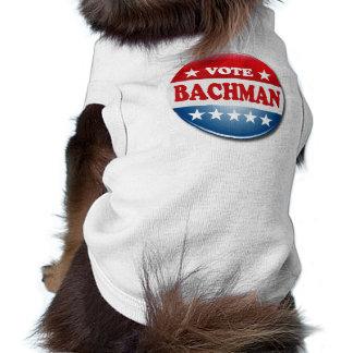 VOTE BACHMAN DOG SHIRT