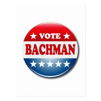VOTE BACHMAN POSTCARD