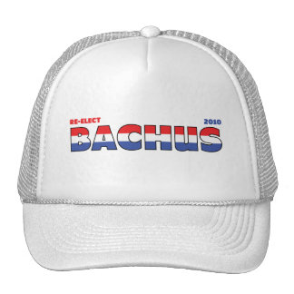Vote Bachus 2010 Elections Red White and Blue Trucker Hat
