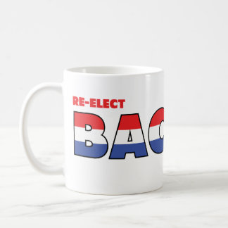 Vote Bachus 2010 Elections Red White and Blue Classic White Coffee Mug