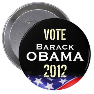 Vote Barack OBAMA 2012 Campaign Button