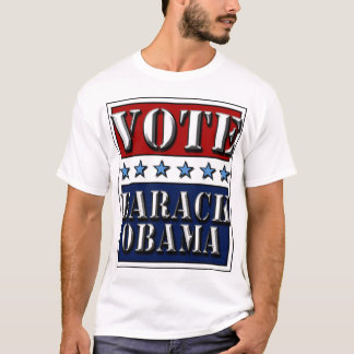 Vote Barack Obama 2012 - t-shirt