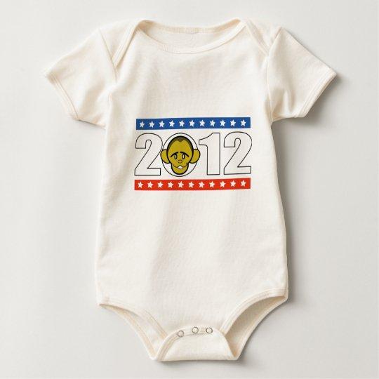 vote Barack Obama Baby Bodysuit