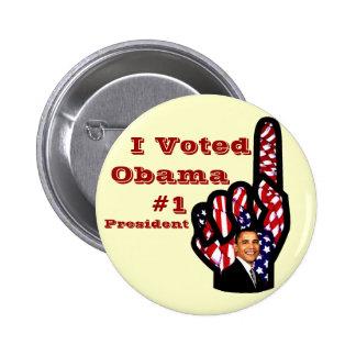 Voté, Barack Obama_ Pin