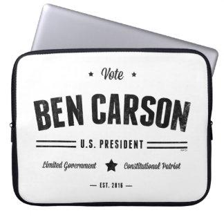 Vote Ben Carson 2016 Laptop Sleeve