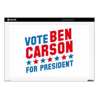 Vote Ben Carson Skin For Laptop