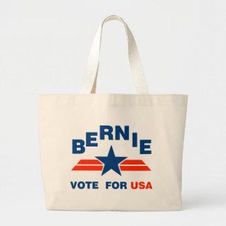 Vote Bernie Sanders 2016 Large Tote Bag