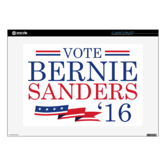 """Vote Bernie Sanders 2016 Skins For 15"""" Laptops"""
