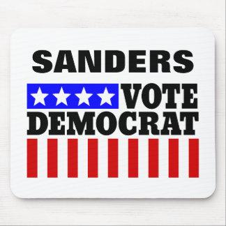 Vote Bernie Sanders Democrat  for President Mouse Pad
