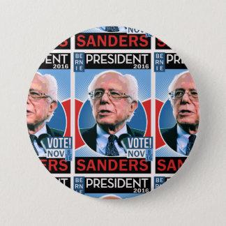 Vote Bernie Sanders Nov. 8, 2016 Button