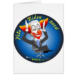 Vote Biden 2016 Card