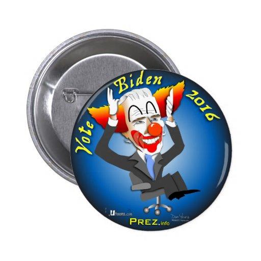 Vote Biden 2016 Pinback Buttons