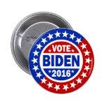 Vote Biden 2016 Pins