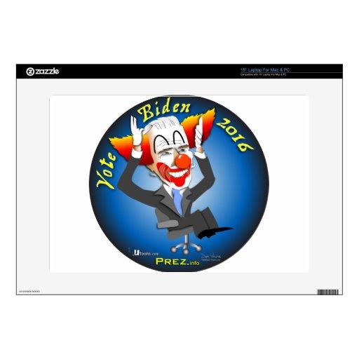 Vote Biden 2016 Skin For Laptop