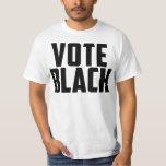 Vote Black (White Tee) T-Shirt