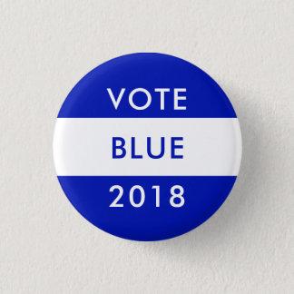 VOTE BLUE 2018 Midterm Election Democrats Wave Button