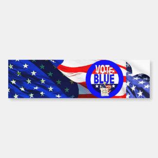 VOTE BLUE #2 BUMPER STICKER
