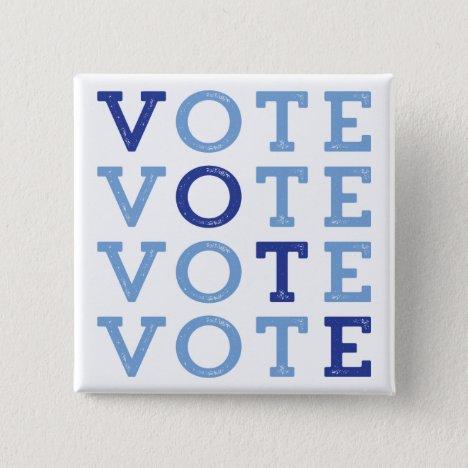 Vote Blue - Blue Wave Button - Vote for Democrats