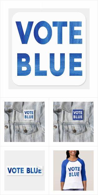 Vote Blue Election Gear