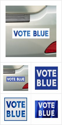 Vote Blue Election Gear