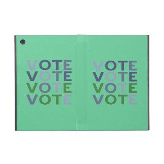 Vote Blue Green Cases For iPad Mini
