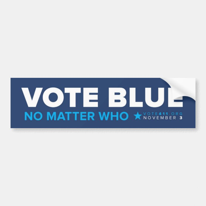 Custom Door Decals Vinyl Stickers Multiple Sizes Elect Your Name Blue White Political Elect Signs Outdoor Luggage /& Bumper Stickers for Cars White 20X14Inches Set of 10