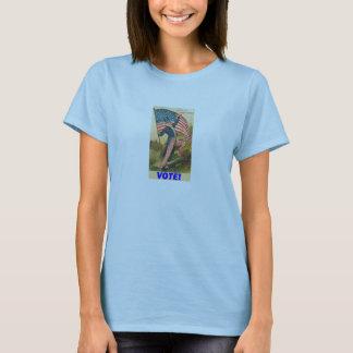 VOTE! BLUE T-SHIRT (WOMAN'S)