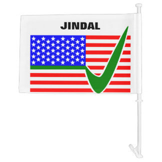 Vote  Bobby Jindal for President 2016 Car Flag