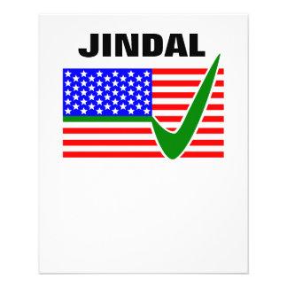 Vote  Bobby Jindal for President 2016 Flyer