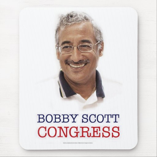 Vote Bobby Scott MOUSEPAD 2