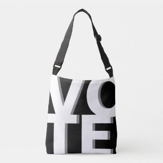 VOTE Bold Modern Graphic Custom Colors Crossbody Bag