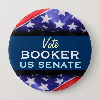 Vote BOOKER US Senate Retro Campaign Button