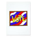 Vote Box 5x7 Paper Invitation Card