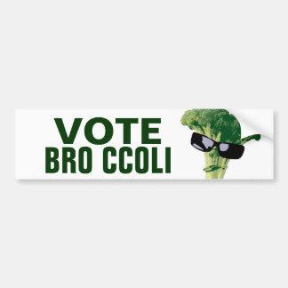 Vote Bro Ccoli Bumper Stickers