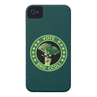 Vote Bro Ccoli iPhone 4 Case