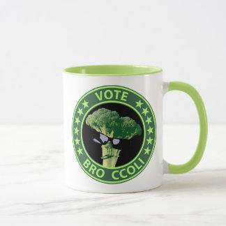 Vote Bro Ccoli Mug