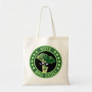 Vote Bro Ccoli Tote Bag